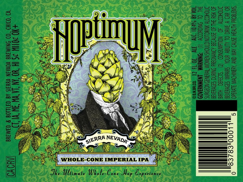 Sierra Nevada Hoptimum Label